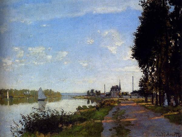 Monet Argenteuil 1872